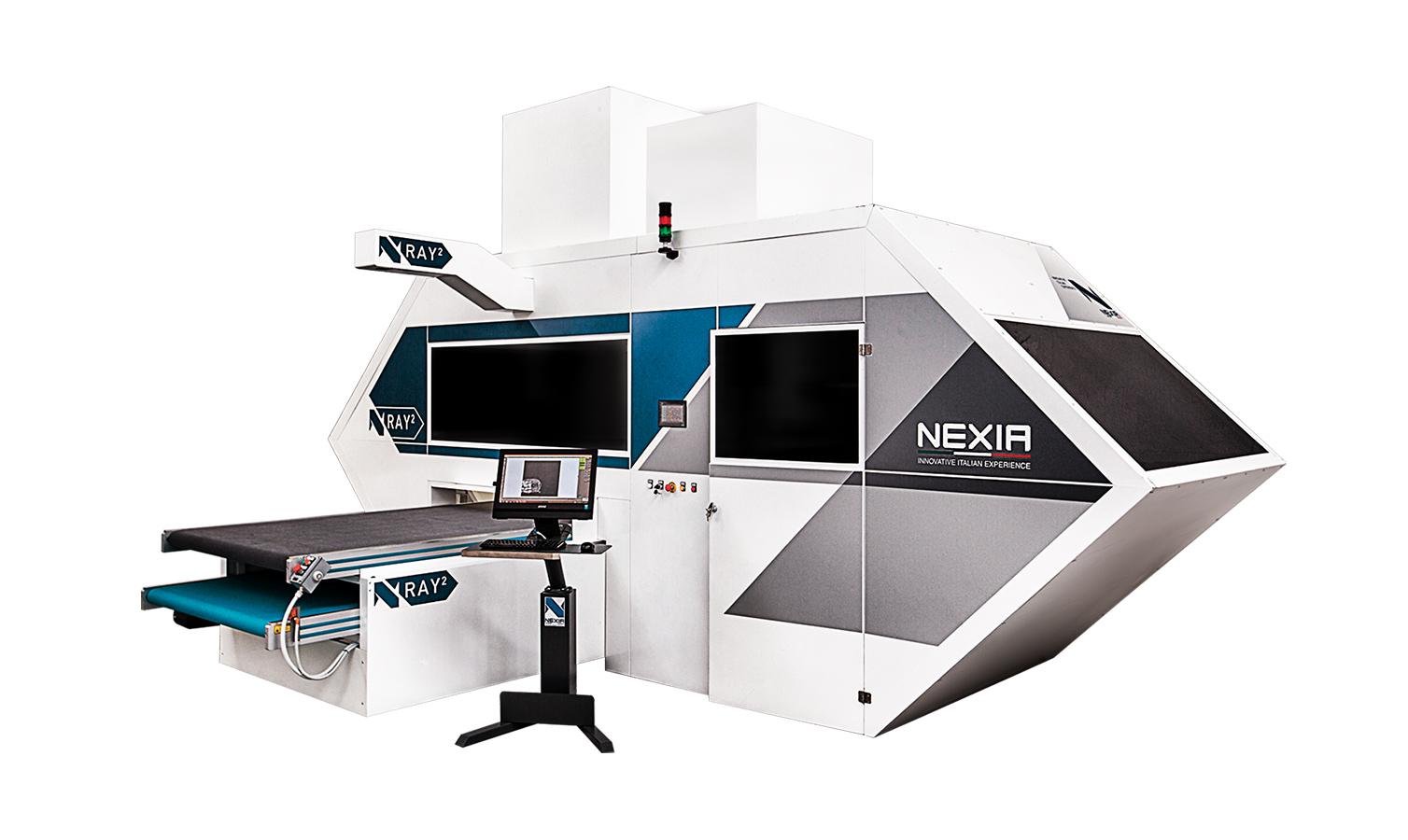 Nexia NRAY 2: Machina per il trattamento laser di jeans e tessuti