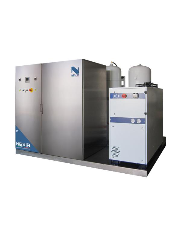 Nexia OZONE: Sistema generatore di ozono per lavanderie industriali