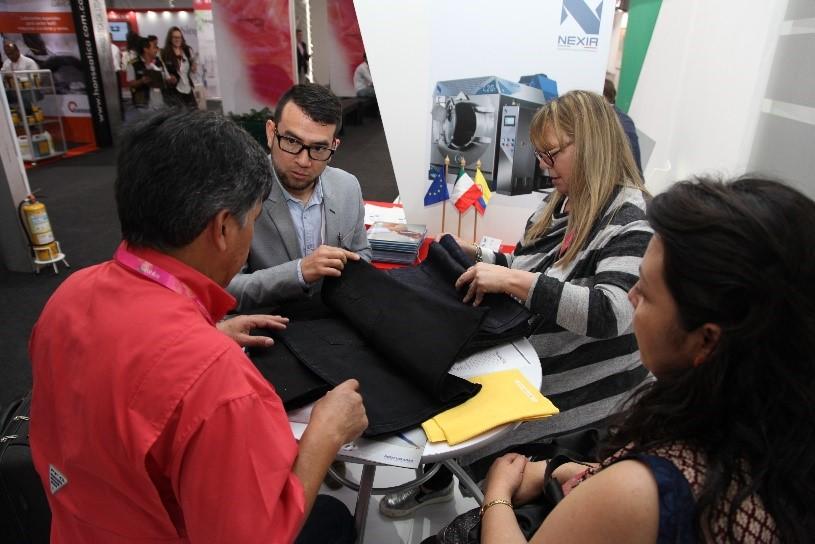 Nexia alla ColombiaTex 2017, Fiera del tessile a Medellín in Colombia - 3