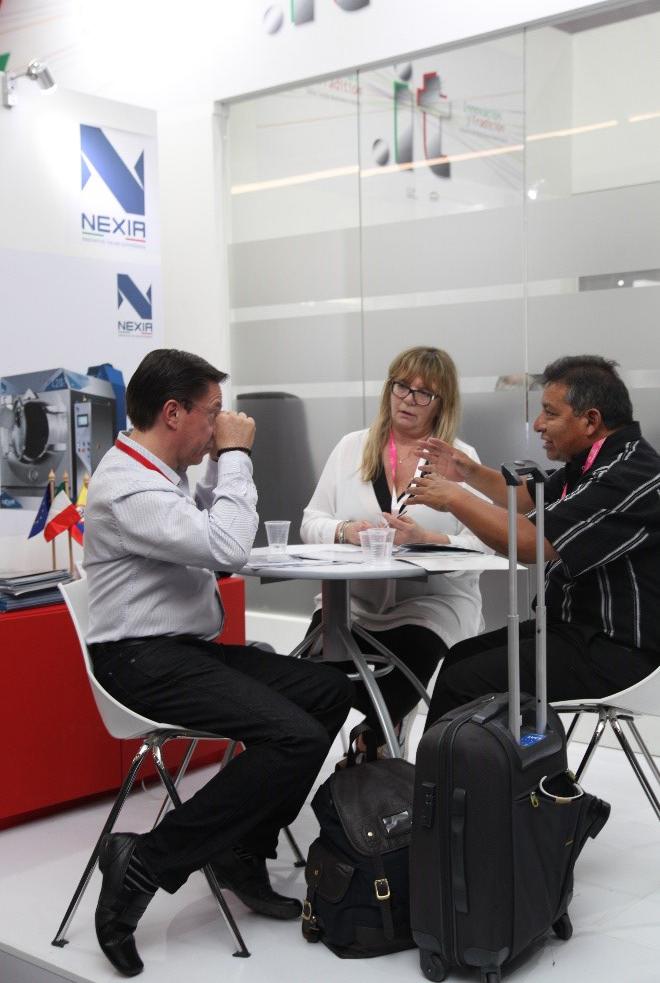 Nexia alla ColombiaTex 2017, Fiera del tessile a Medellín in Colombia - 1
