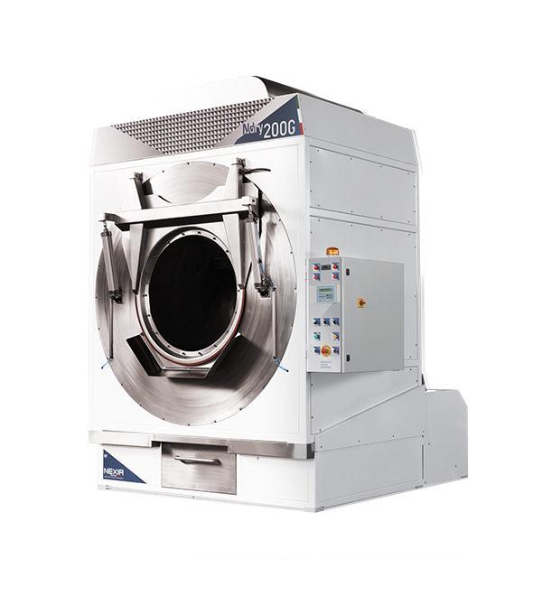 N DRY: Essiccatoio rotativo industriale a carico frontale per asciugatura